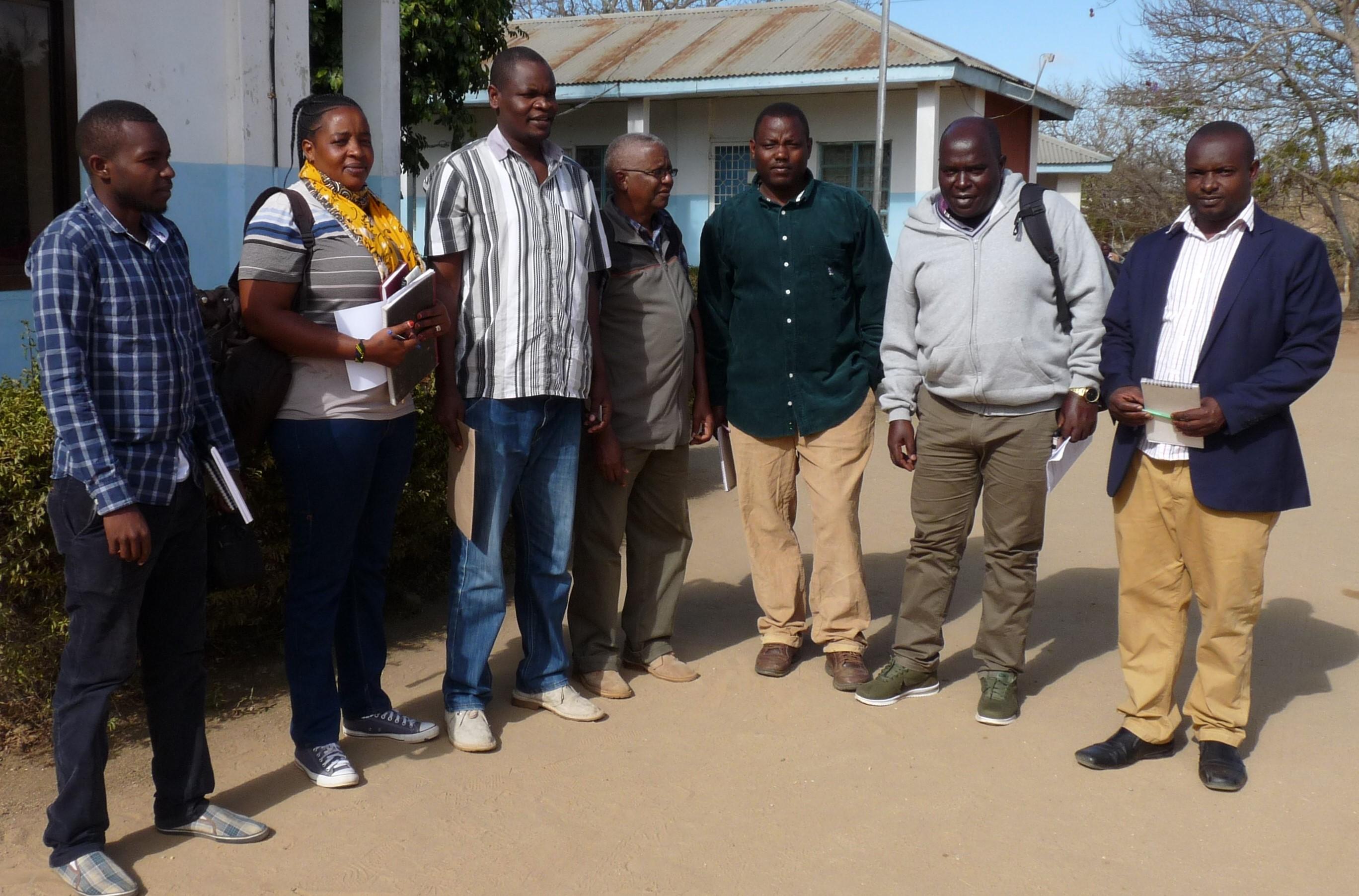 TNRF Visit Olengapa at Kiteto DC