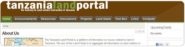 Tanzania Land Portal