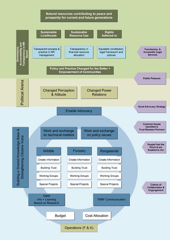 TNRF Logic Model